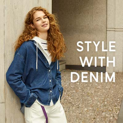 STYLE WITH DENIM